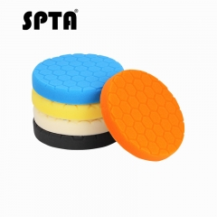 "SPTA 6"" (150mm) Different Hardness Polishing Pads Buffing Polishing Pads Set For DA / RO Car Polisher"