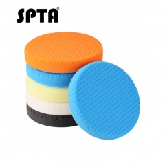 "SPTA 6"" (150mm) Compound Polishing Pads Buffing Pads Polishing Pads Set For Car Polisher-Select Color"
