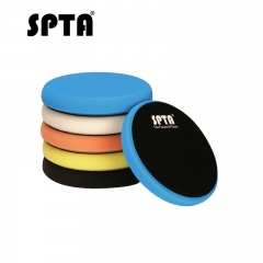SPTA 7inch (180mm) Mix Color Light Cut ,Heavy Cut,And Finish Buffing Polishing Pads Kit Set For RO/DA Car Polisher
