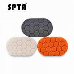 SPTA Finishing Hand Applicator Hex-Logic Polishing Buffing Hand Pad Sets For Car Wax Buff Polisher Pack of 3Pcs